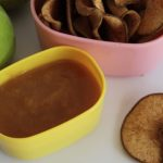 Apple & Pear Chips with Nectarine Honey Dipping Sauce