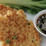Asian Noodle Cakes with Bok Choy