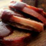 Bacon Wrapped Meatloaf with  Smokey BBQ Sauce