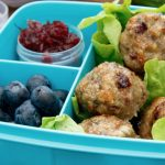 Baked Cranberry and Turkey Meatballs