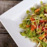 Beansprout Salad with Citrus Dressing