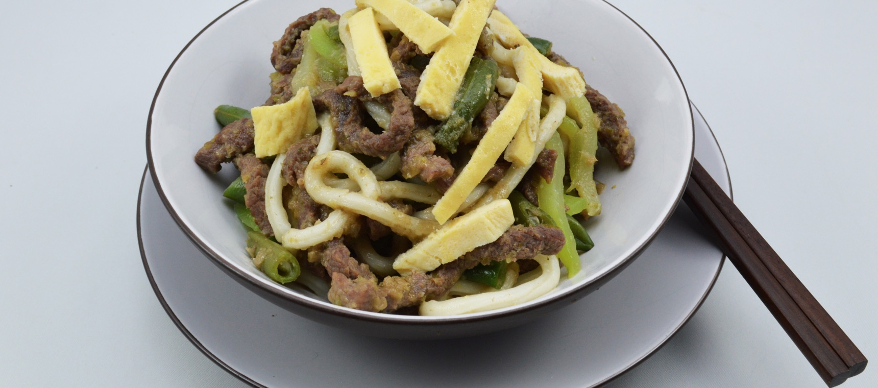 Beef Stir Fry with Udon Noodles