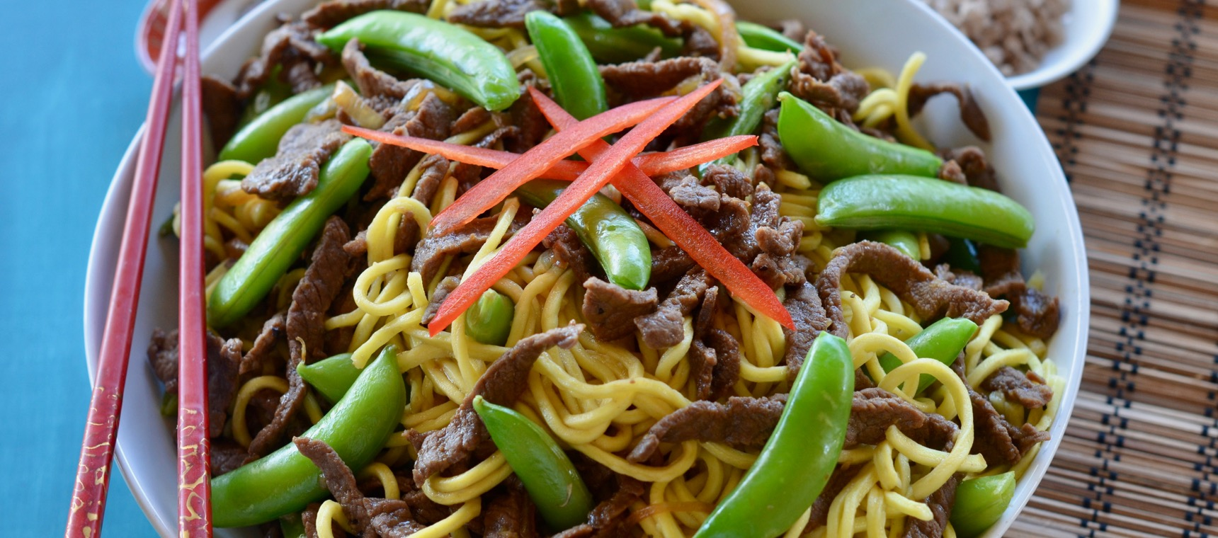 Beef and Sugar Snap Pea Stir Fry