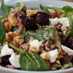 Beetroot, Quinoa and Goat Cheese Salad
