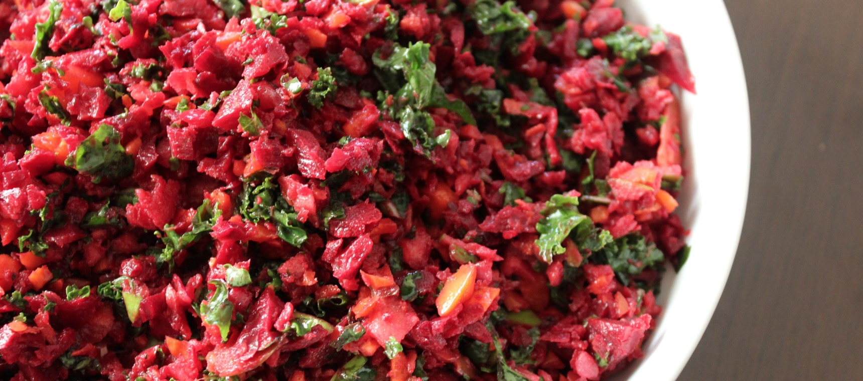 Beetroot and Kale Chopped Salad