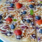 Berry Mascarpone Dessert Pizza
