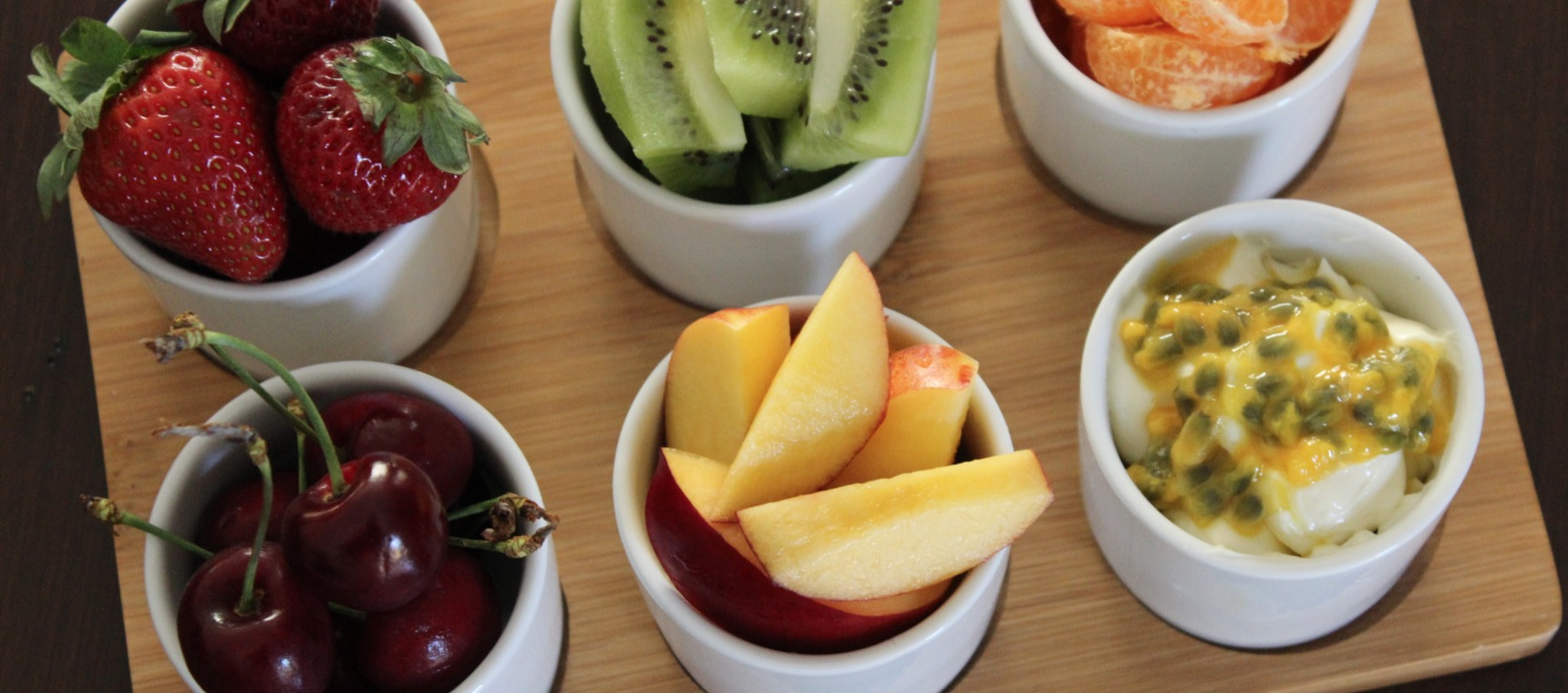 Breakfast Fruit Platter with Tropical Dip
