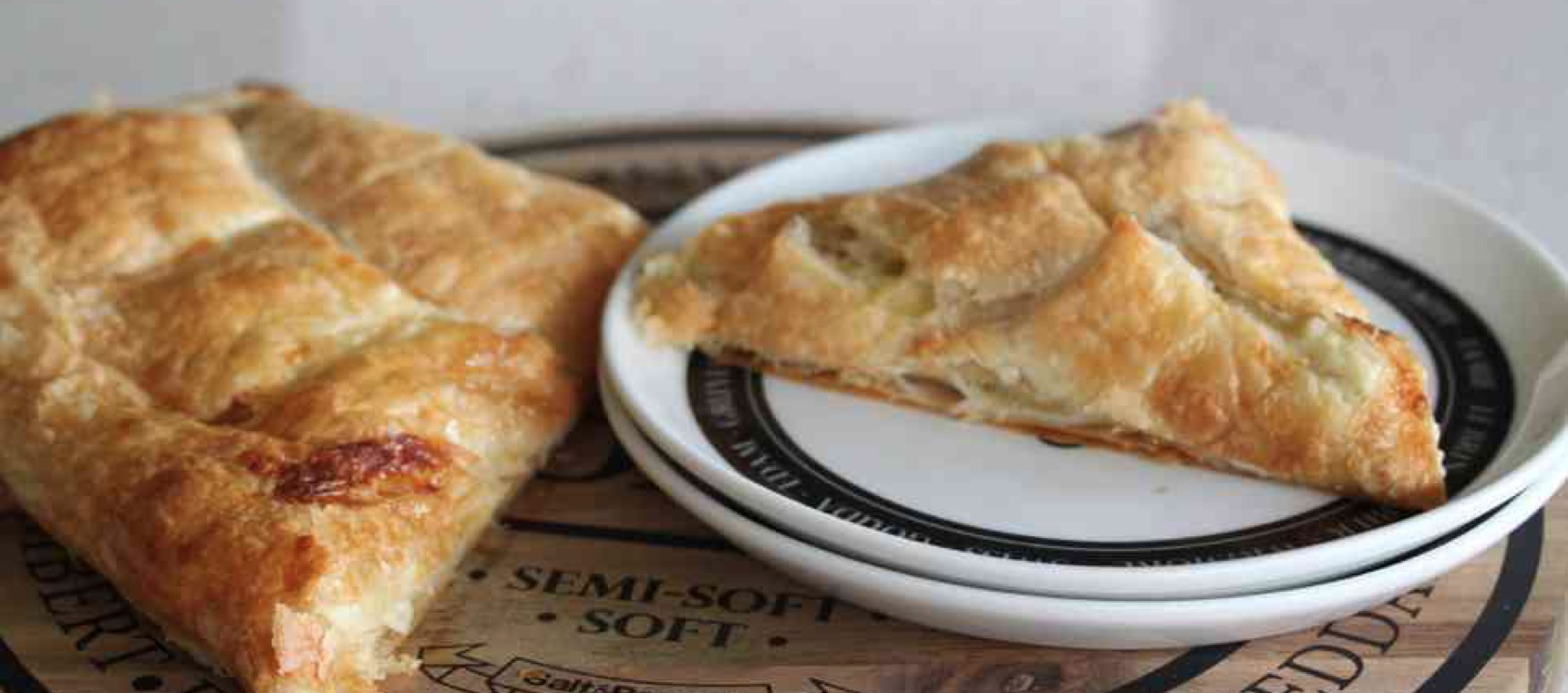 Brie and Leek Pastries