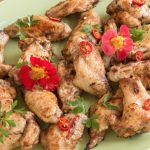 Caribbean Inspired Chicken Wings