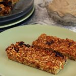Carrot Cake Breakfast Bars with 'Cream Cheese' Frosting