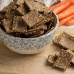 Carrot and Seed Crackers