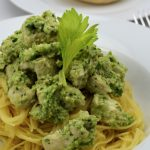 Celery Pesto Chicken