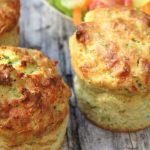 Cheesy Broccoli Muffins