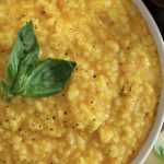 Cheesy Risotto with a Twist