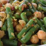 Chilli Lemon Steamed Beans