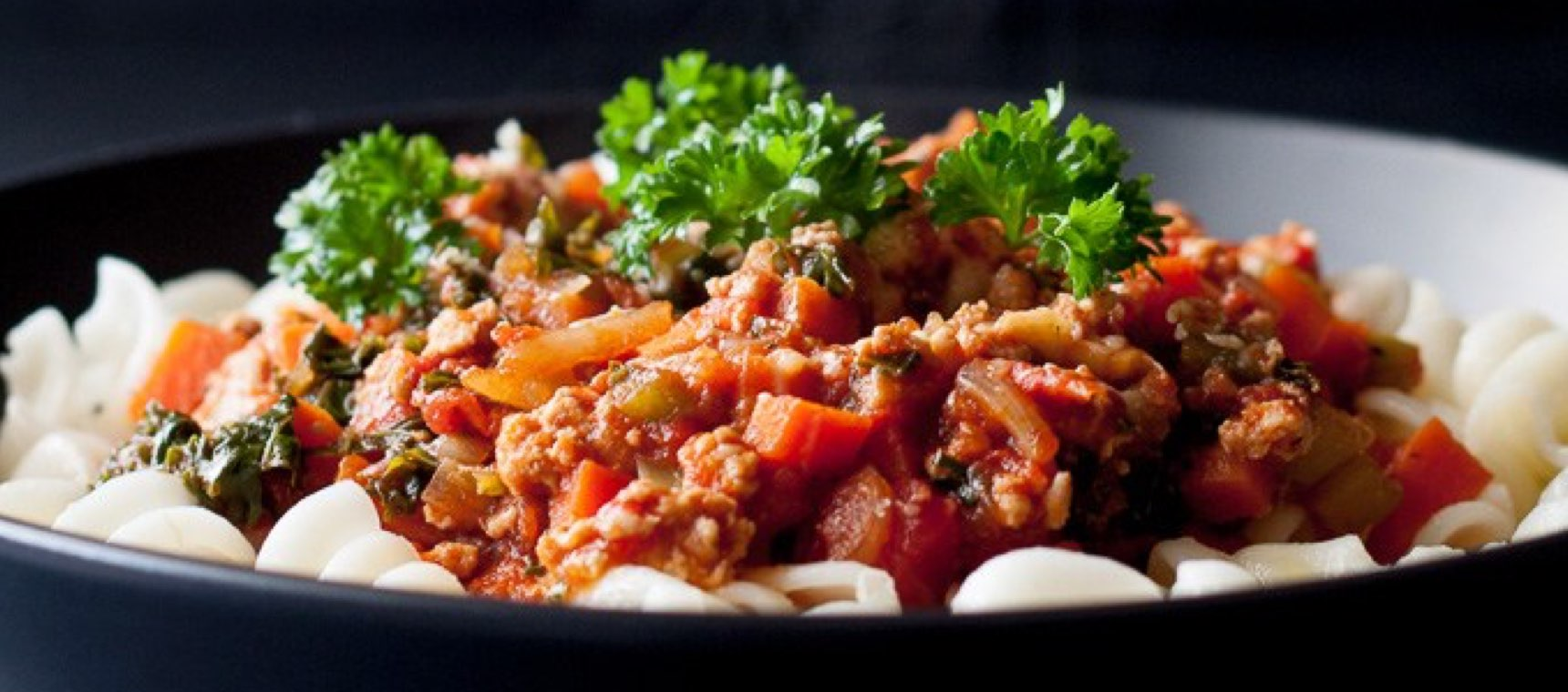 Chunky Chicken Bolognese