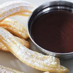 Churros with Choc Chilli Dipping Sauce