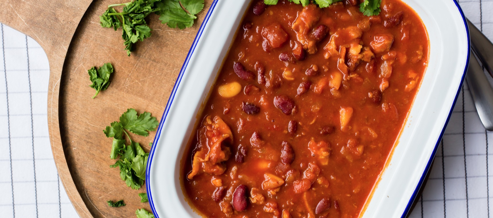Cowboy Chicken and Bean Stew
