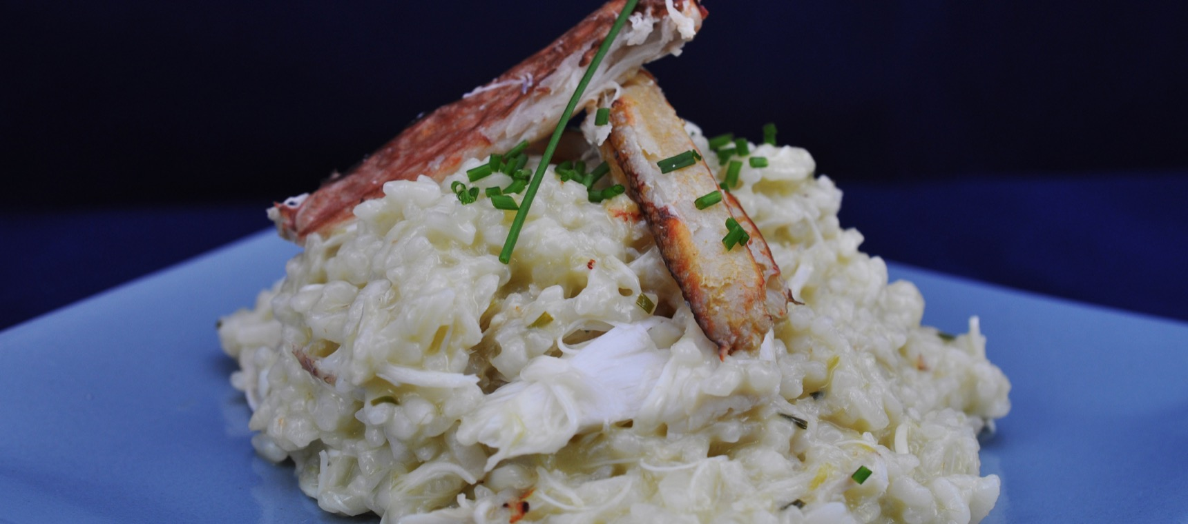Crab Risotto with Mascarpone