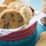 Cranberry and Orange Shortbread Rounds