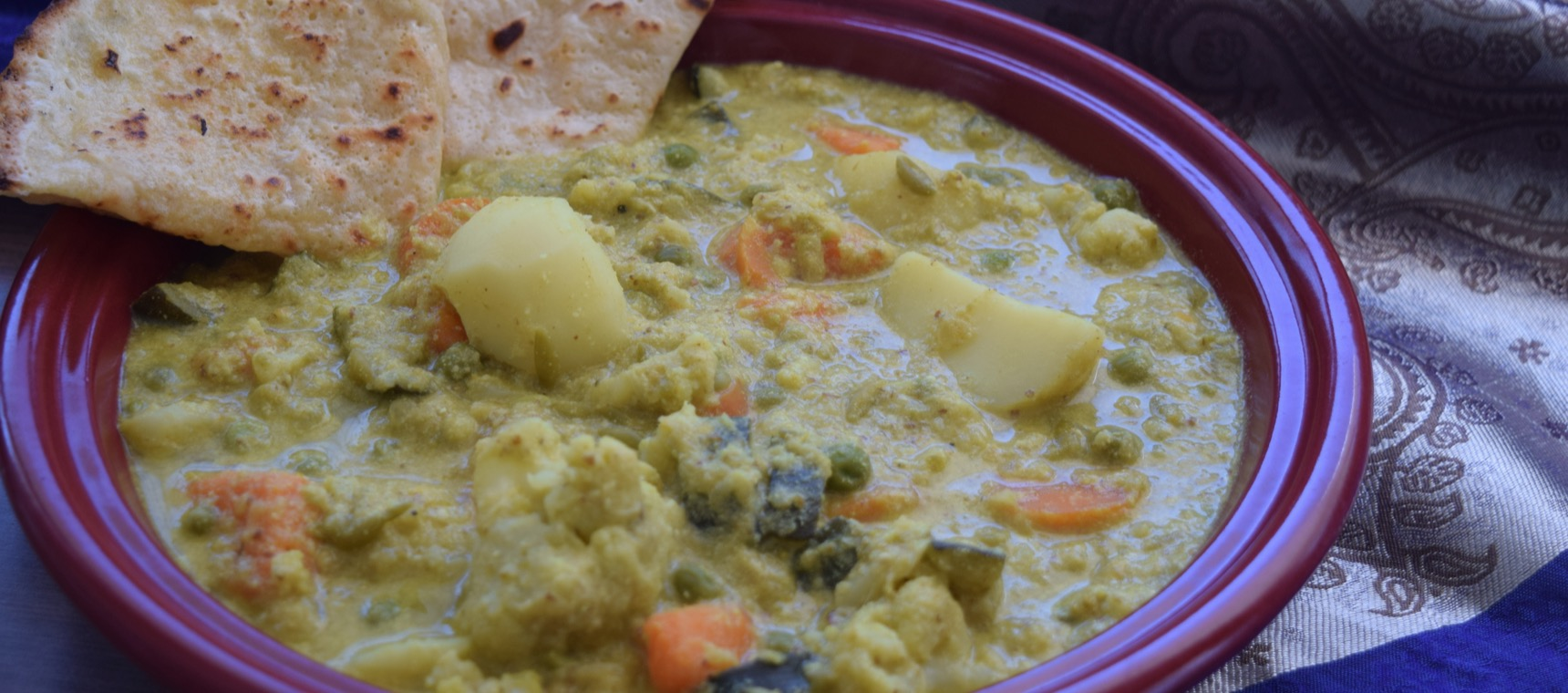 Creamy Vegetable Korma
