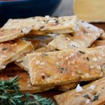 Crunchy Thyme Crackers