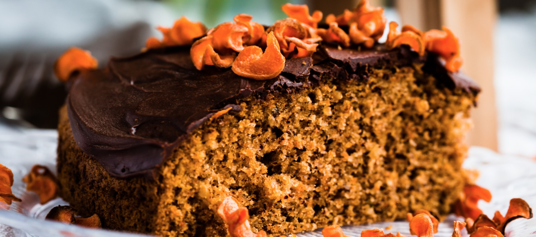 Easter Carrot Cake with Chocolate Ganache