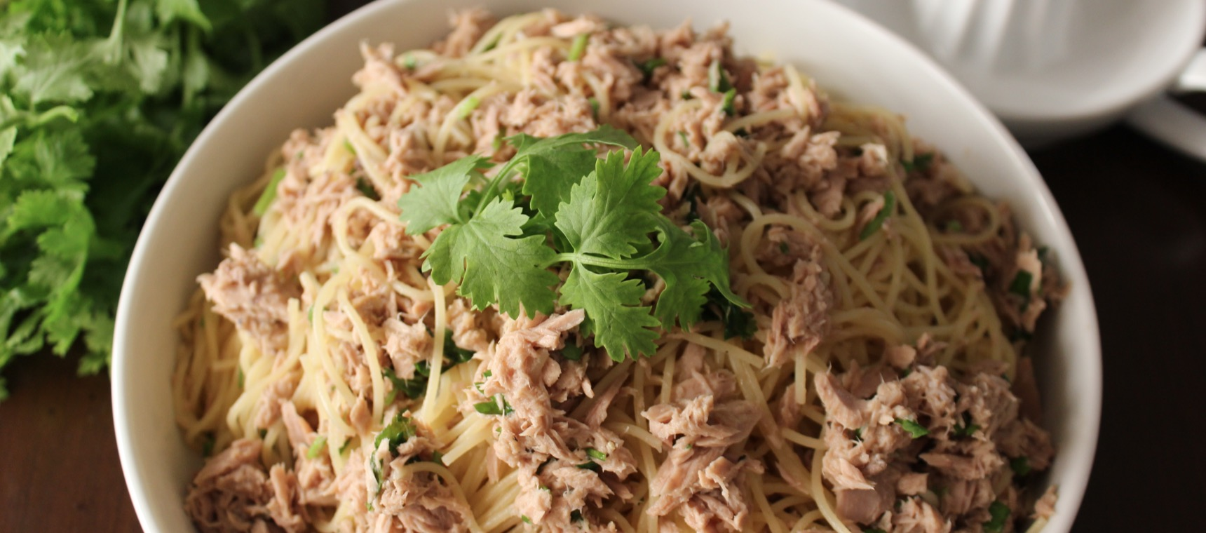 Easy Tuna and Lemon Spaghetti