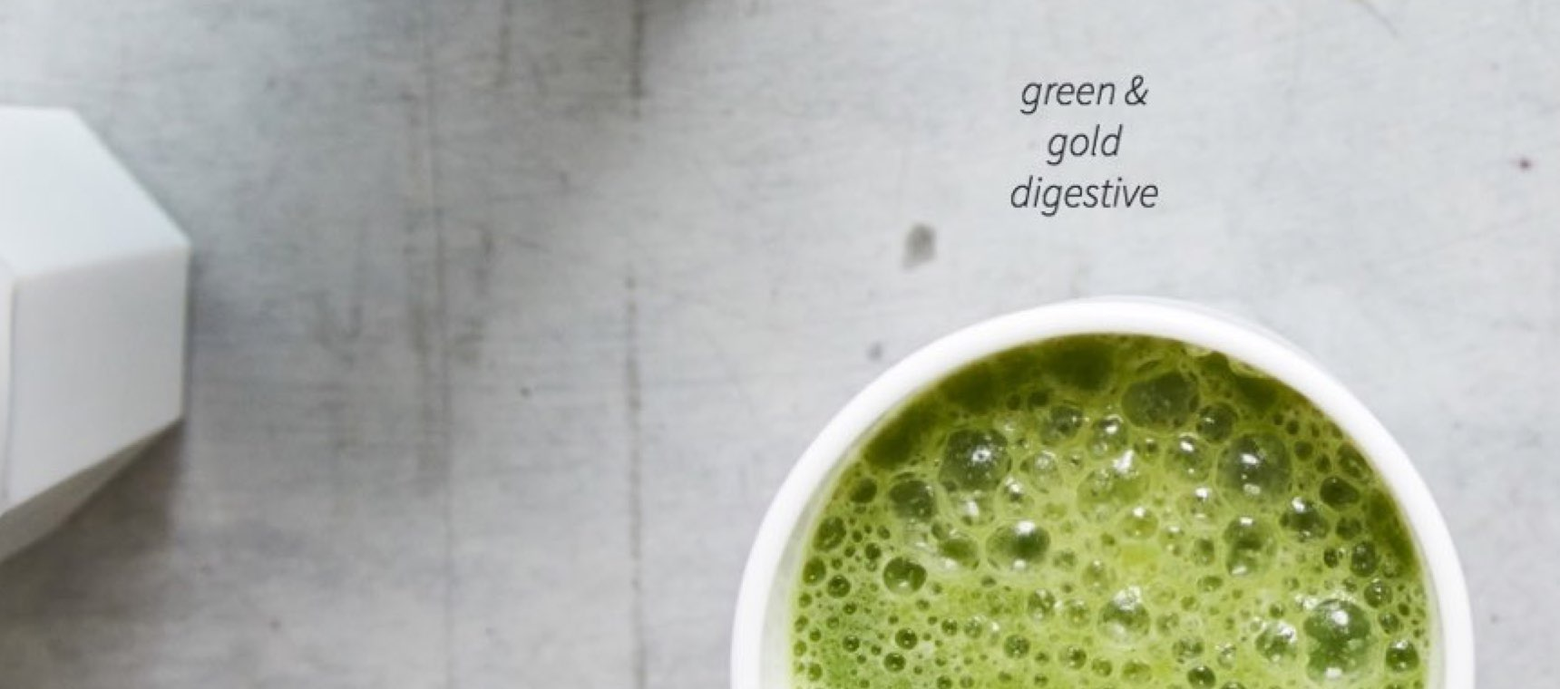 Green and Gold Digestive Smoothie