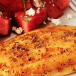 Grilled Cajun Fish with Watermelon, Feta and Mint Salad
