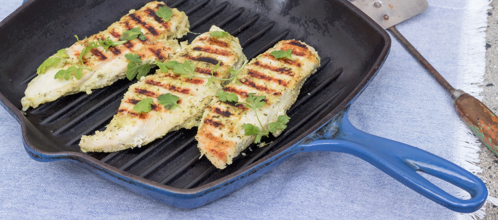 Grilled Thai Chicken Breasts