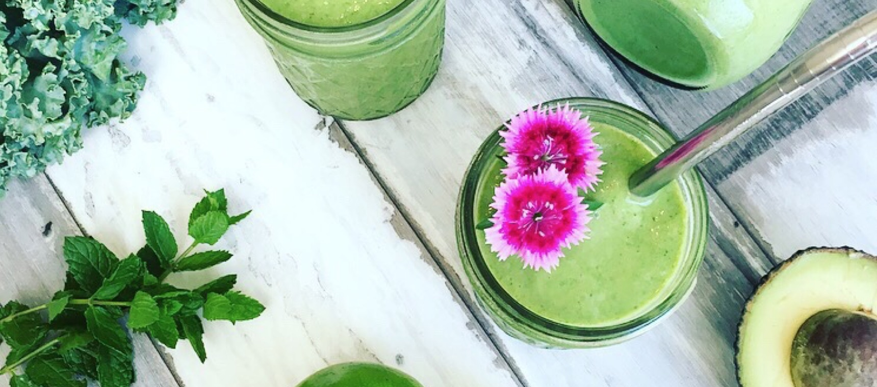Kale Lime Coconut Smoothie
