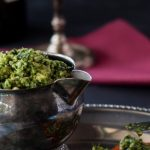 Kale and Spinach Pesto Dip