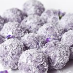 LCHF Blueberry Cheesecake Bliss Balls