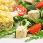 LCHF Zucchini and Ham Slice