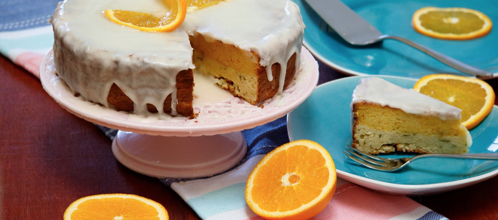 Layered Citrus Cake