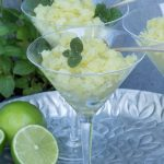 Lime and Mint Granita