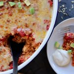 Mexican Chicken Rice Bake