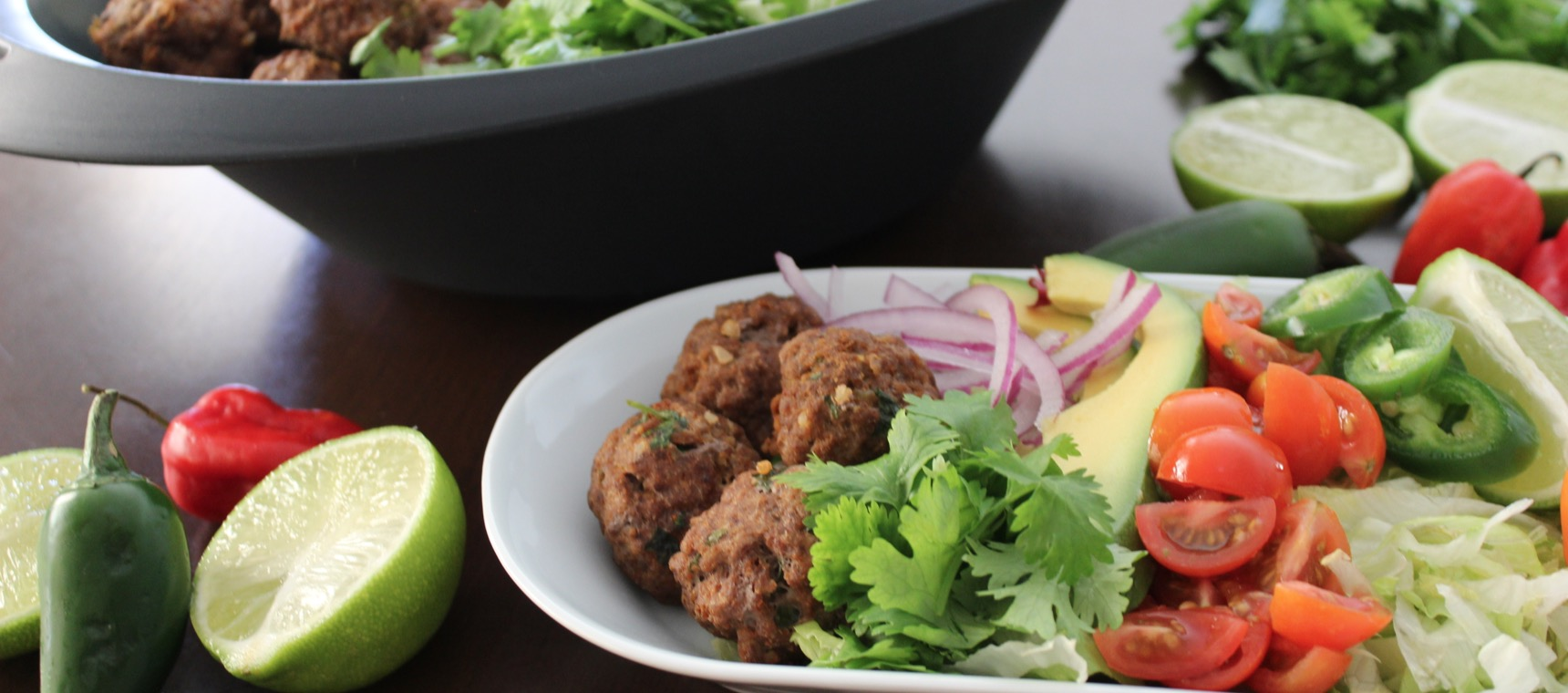 Mexican Meatball Salad