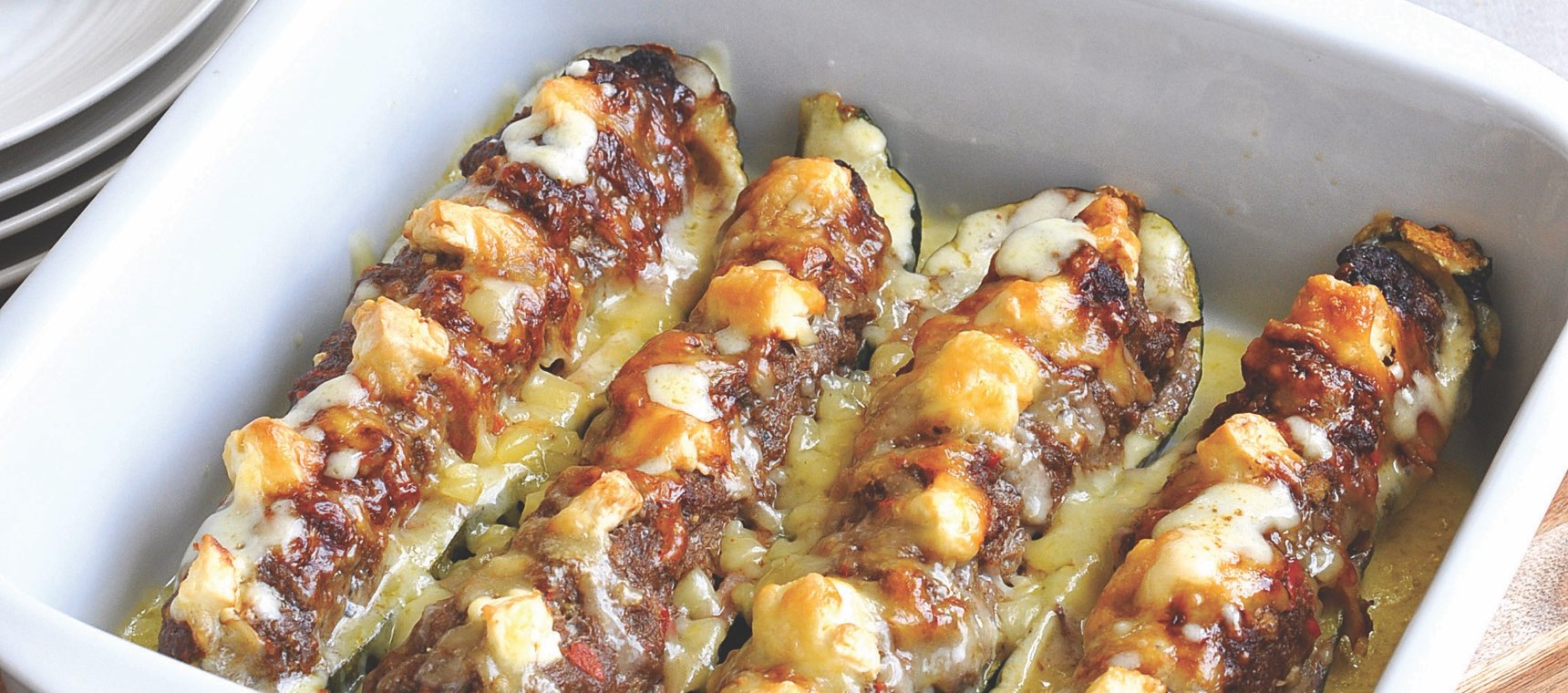 Mexican Stuffed Zucchinis