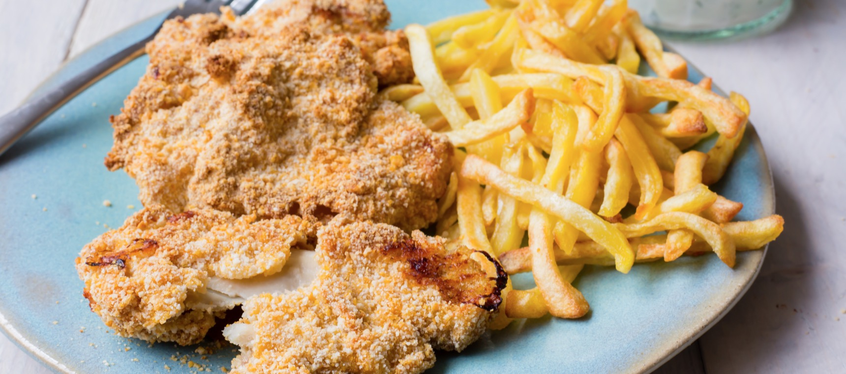 Mini Chicken Schnitzels with Dipping Sauce