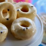 Mini Donuts with Passionfruit Icing