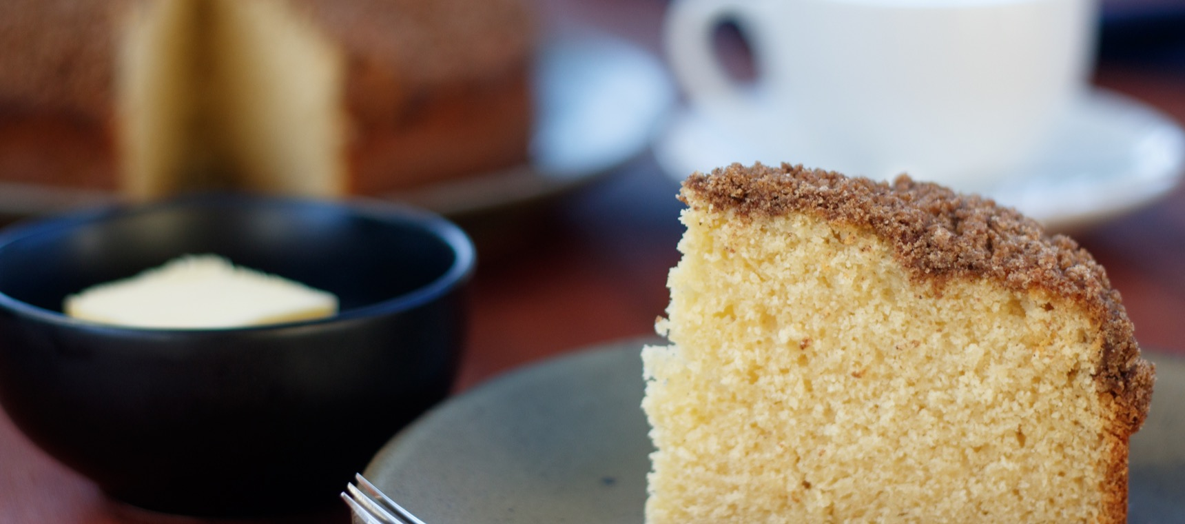 No-Coffee Coffee Cake