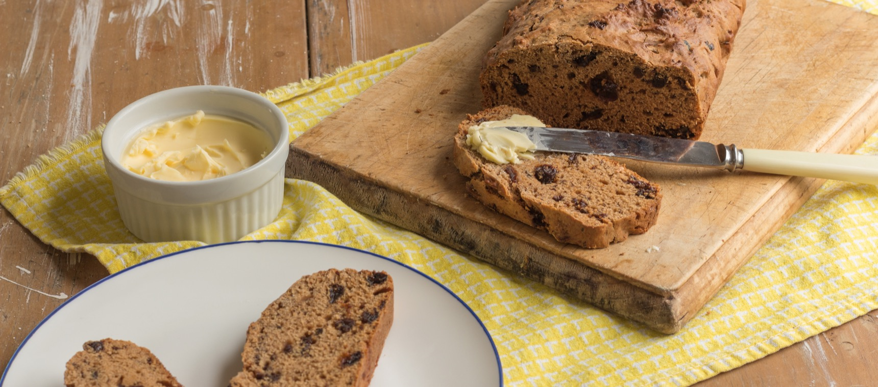 No-Egg Raisin Loaf