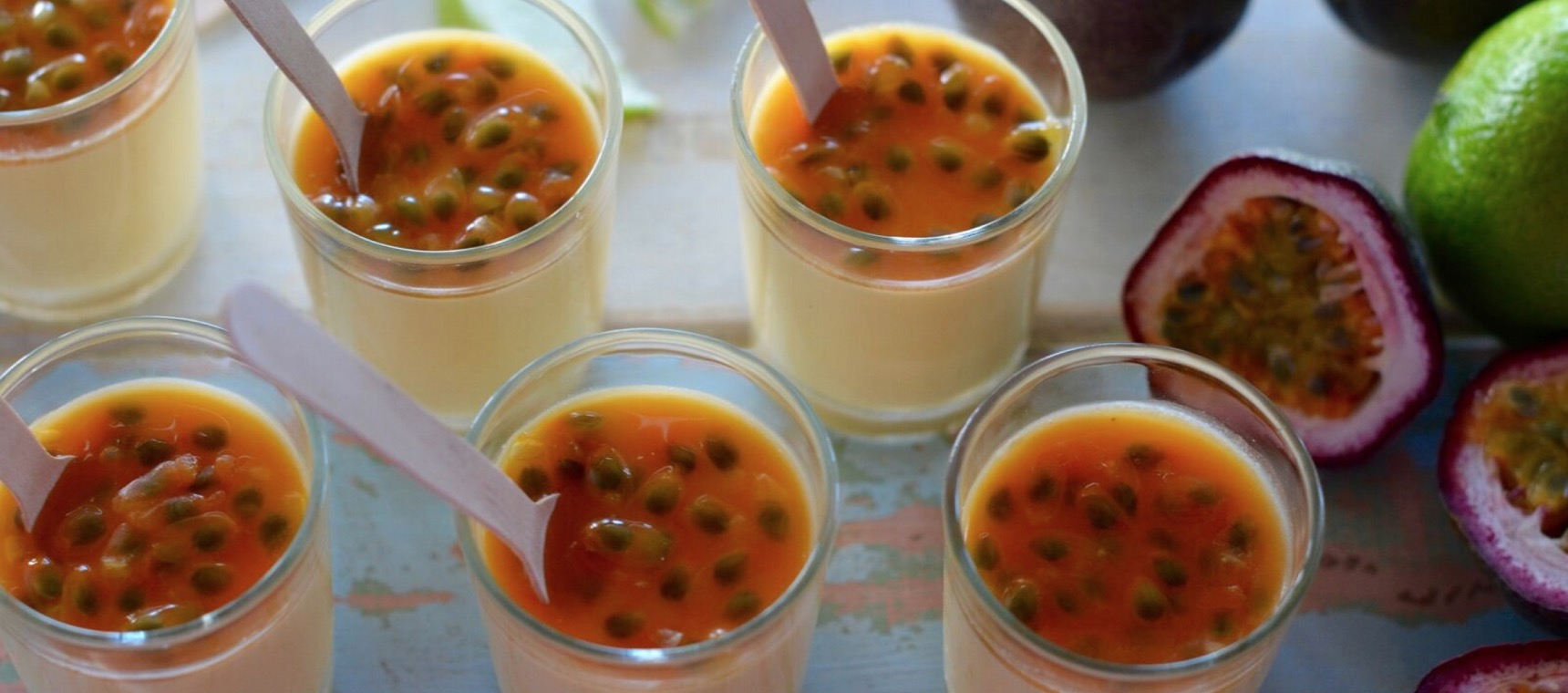 Passionfruit Puddings