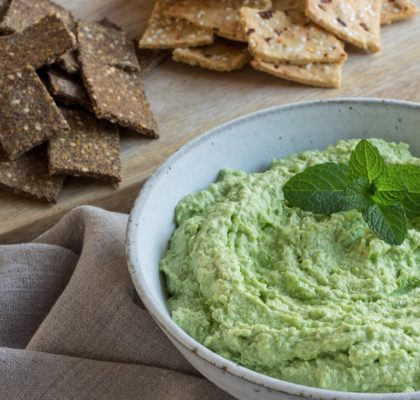Pea and Feta Hummus