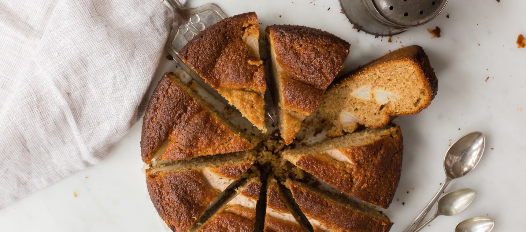 Pear and Olive Oil Cake