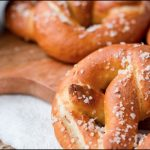 Pretzels and Cheese Sauce