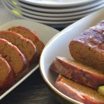 Prosciutto Wrapped Meatloaf and Veggies