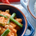 Pumpkin, Green Bean and Chickpea Curry